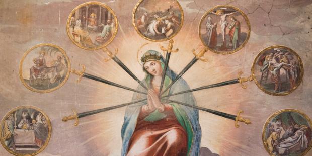 La Madonna delle sette spade